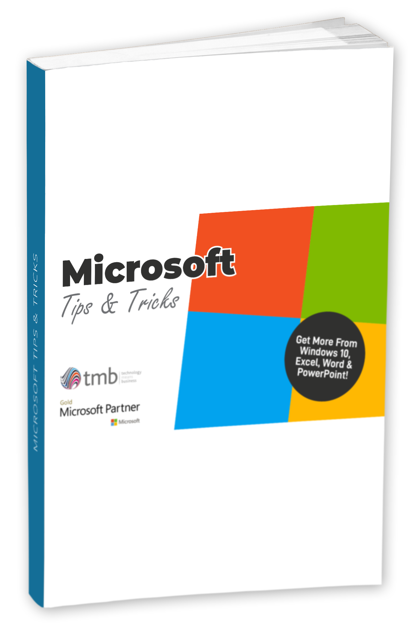 Ebook Cover - Microsoft Tips and Tricks-drop shadow