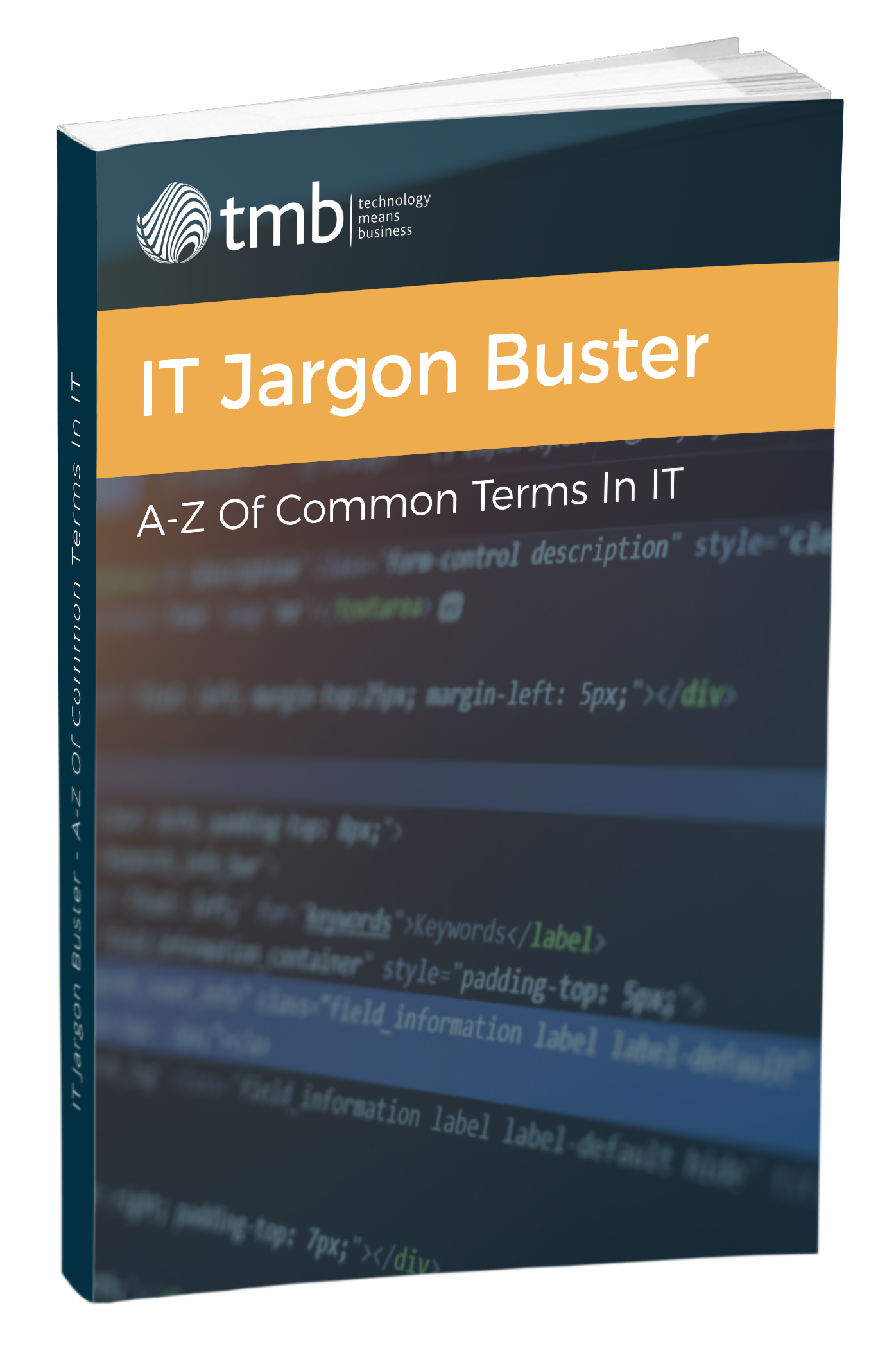 Ebook Cover_ IT Jargon Buster